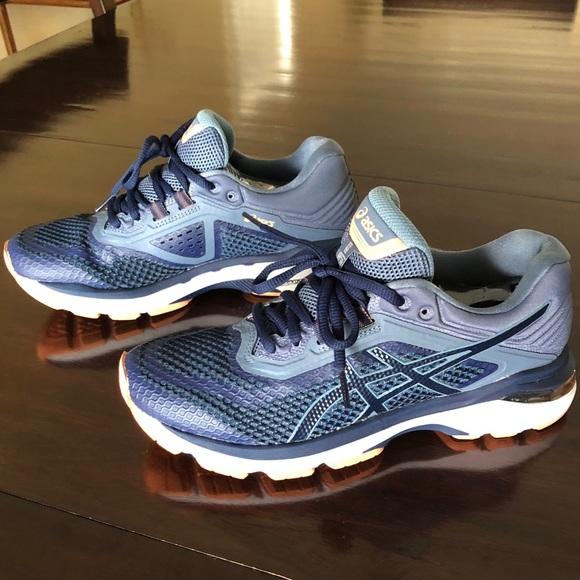 d349bd3a7d17 Asics Shoes - ASICS GT-2000 6 Indigo Blue Smoke Blue Women s